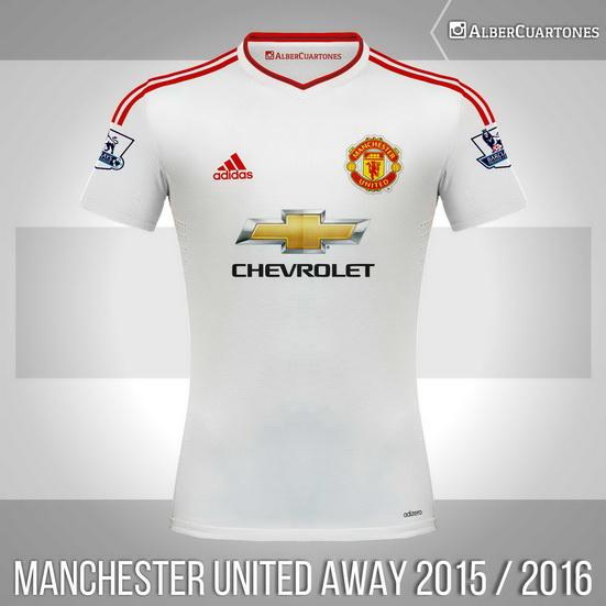 Manchester United 2015 / 2016 Away Shirt