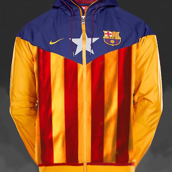 Nike FC Barcelona Estelada Windrunner Track Top Jacket
