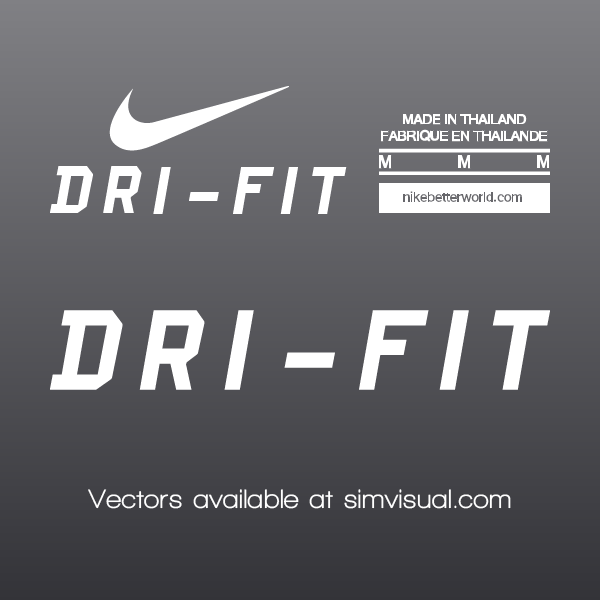 Nike Vector Labels