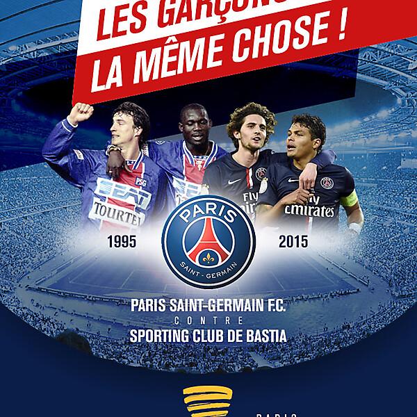 PSG-BASTIA Finale Coupe de la Ligue 2015