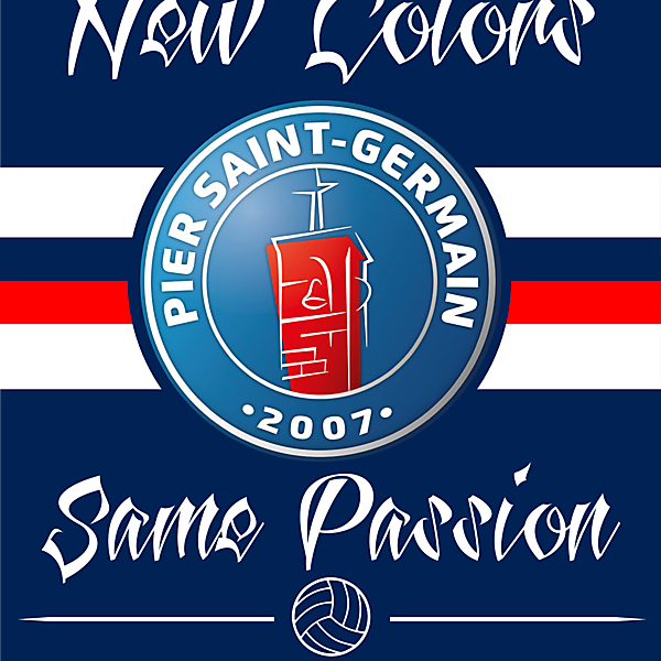 PSG crest.. not the real PSG :)