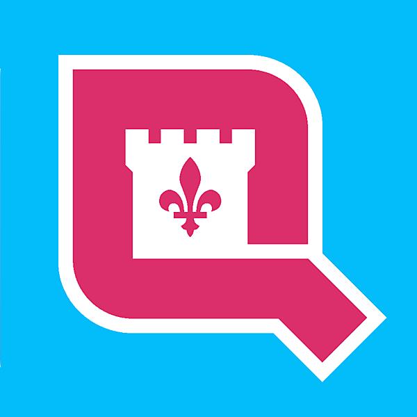 Quebec sponsor logo concept .