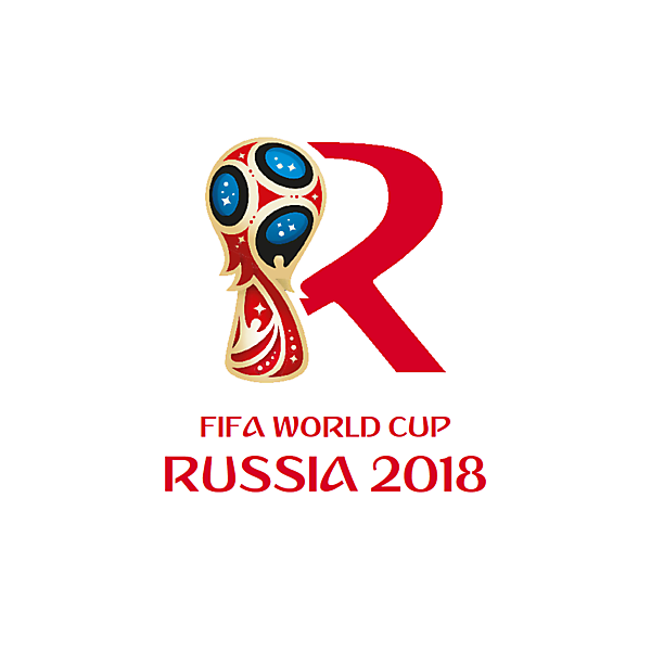 Russia 2018 FIFA World Cup logo from another angle