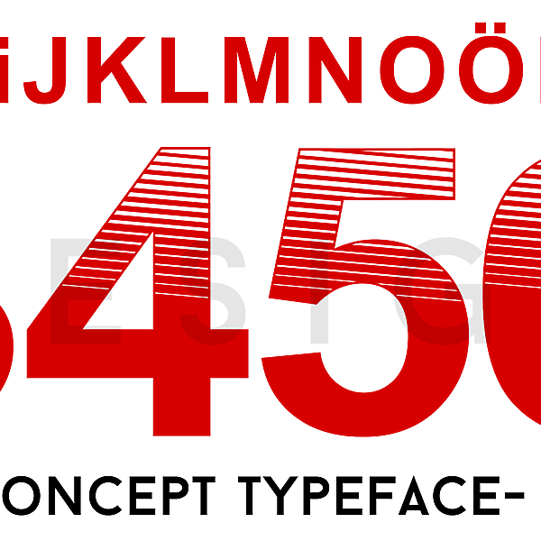 Süper Lig (Turkey) Concept Typeface