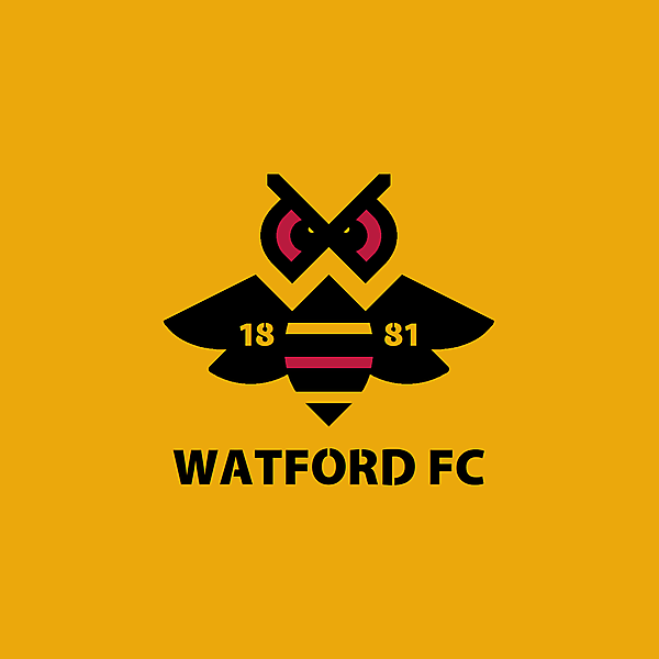 Watford FC alternative logo.