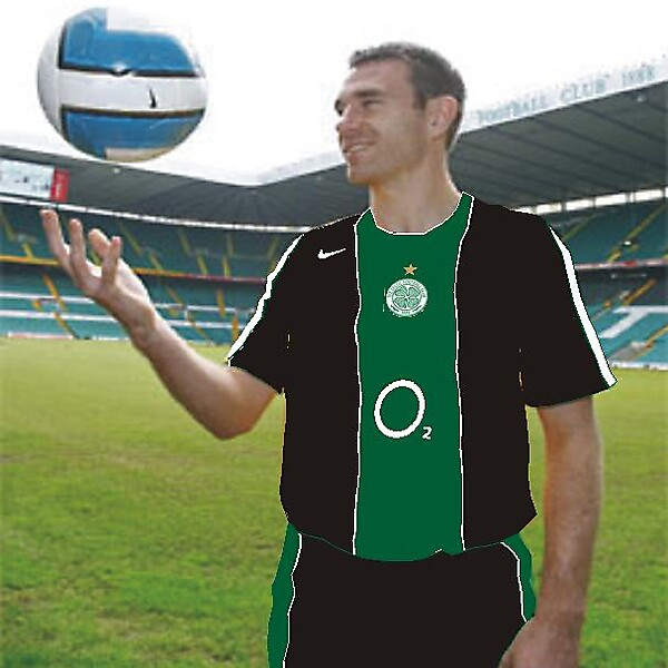 Celtic F.C. away 09/10 kit leak