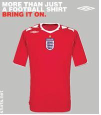 Possible 2011 England Away