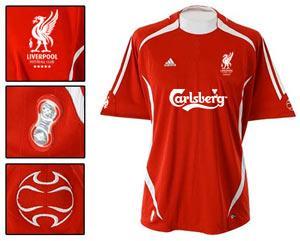 2009/10 Liverpool Kit