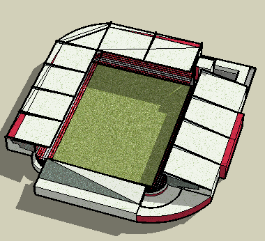 Football Stadium Design 3