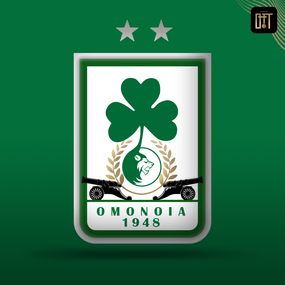 OMONOIA FC LOGO CONCEPT<br />'Defence like Lions/ Attack like Cannons'
