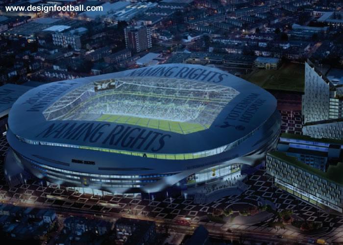 tottenham hotspur reveal new stadium plans