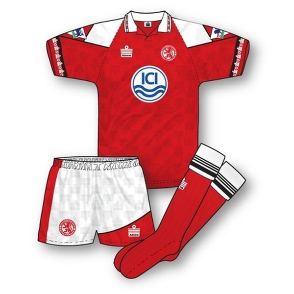 Middlesbrough 1992-93 Home Kit