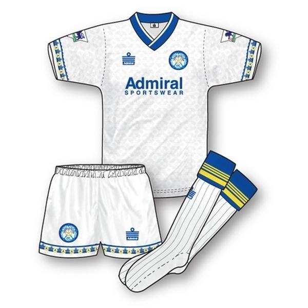 Leeds United 1992-93 Home Kit