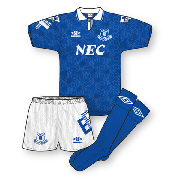 Everton 1992-93 Home Kit