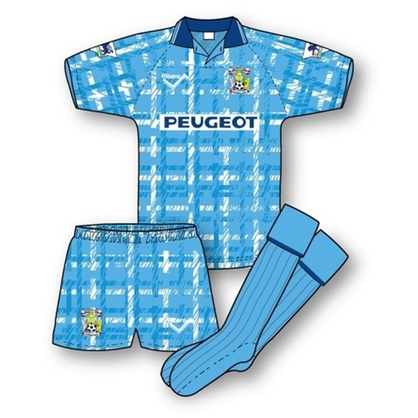 Coventry City 1992-93 Home Kit