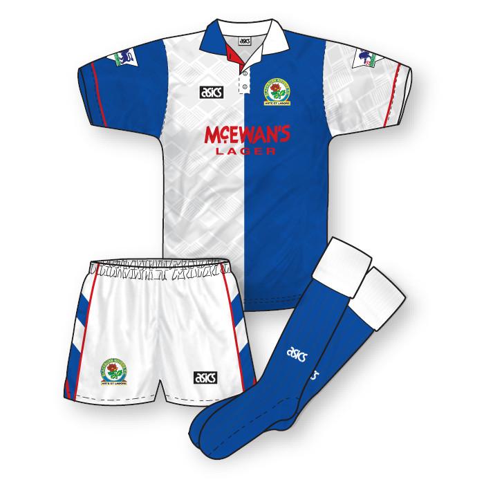 Blackburn Rovers 1992-93 Home Kit