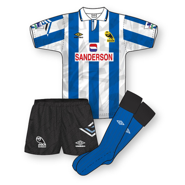 Sheffield Wednesday 1992-93 Home Kit