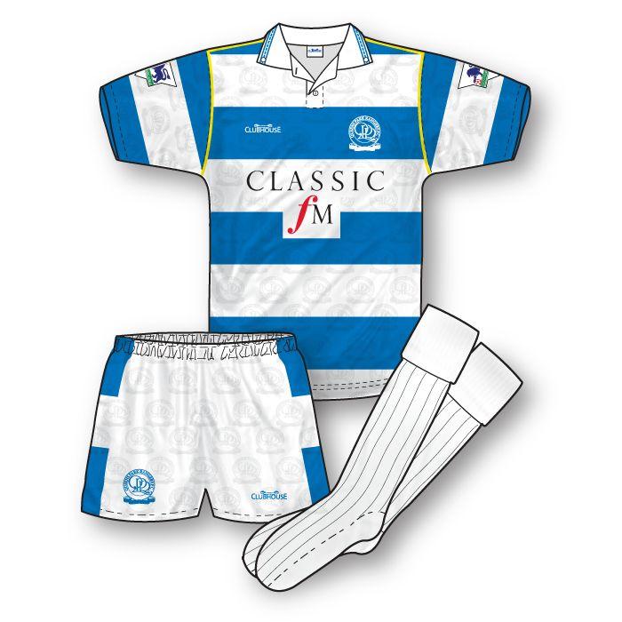 QPR 1992-93 Home Kit